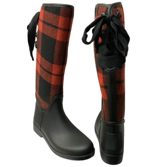 Coach Tristee Tall Waterproof Rain Boot